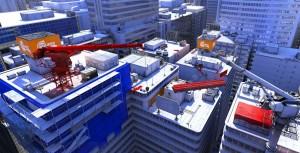Mirror's Edge - Widok na miasto