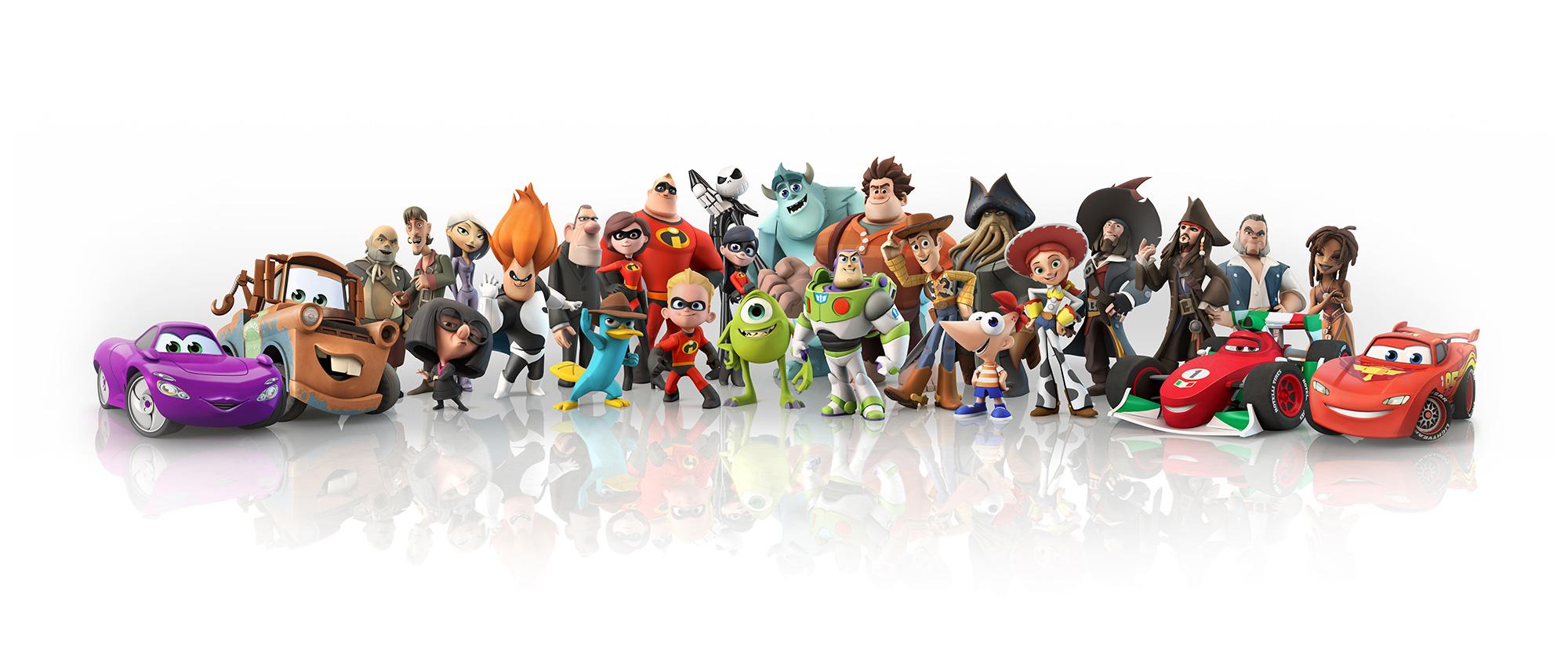 Disney Infnity - gigatnyczny sandbox i plastikowe zabawki ...