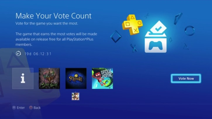 PS Vote to play