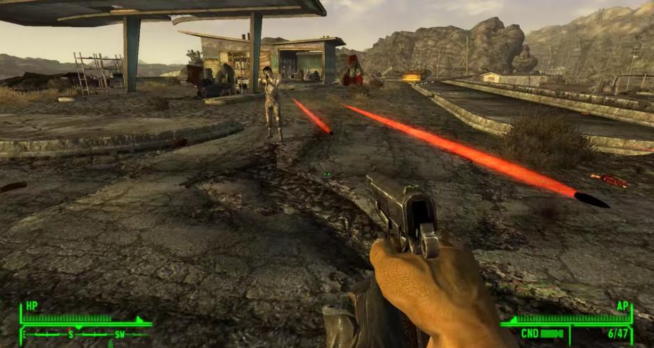 Fallout New Vegas – Superhot